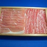 しゃぶしゃぶ豚肉 食品サンプル