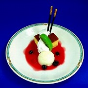 ケーキパフェ B 食品サンプル