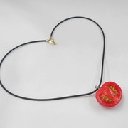 Cherry Tomato (half-size) Necklace - Fake Food Japan