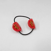 Cherry Tomato (quarter-size) Hair Band (Pair Set) - Fake Food Japan