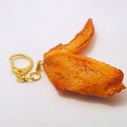 Chicken Wing Keychain - Fake Food Japan