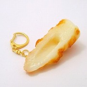 Chikuwa (Boiled Fish Paste) Keychain - Fake Food Japan