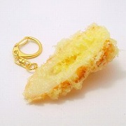Chikuwa (Boiled Fish Paste) Tempura Keychain - Fake Food Japan