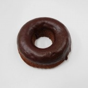 Chocolate Frosted Chocolate Doughnut Magnet - Fake Food Japan