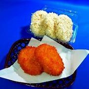 コロッケ生・揚げ 食品サンプル