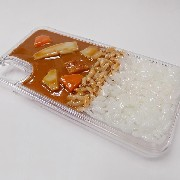 Curry Rice iPhone X Case - Fake Food Japan
