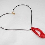 Cut Red Chili Pepper Necklace - Fake Food Japan