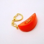 Cut Tomato Keychain - Fake Food Japan