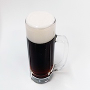 Dark Draught Beer in a Mug Replica