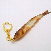 Dried Sardine Keychain - Fake Food Japan