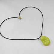 Fava Bean Necklace - Fake Food Japan