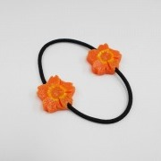 Flower-Shaped Carrot Ver. 1 (mini) Hair Band (Pair Set) - Fake Food Japan