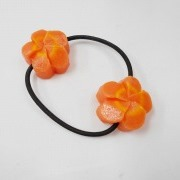 Flower-Shaped Carrot Ver. 2 Hair Band (Pair Set) - Fake Food Japan