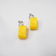Fried Egg (mini) Earrings - Fake Food Japan