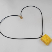Fried Egg (mini) Necklace - Fake Food Japan