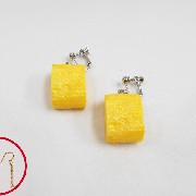Fried Egg (mini) Pierced Earrings - Fake Food Japan