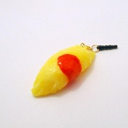 Fried Rice Omelette Headphone Jack Plug - Fake Food Japan