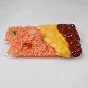 Fried Rice Omelette with Demi-Glace Sauce (new) iPhone 8 Case - Fake Food Japan
