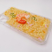 Fried Rice with Shrimp iPhone X Case - Fake Food Japan