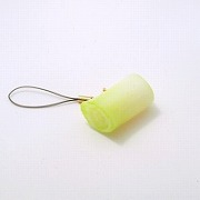 Green Onion Cell Phone Charm/Zipper Pull - Fake Food Japan