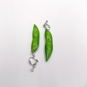 Green Soybean Earrings - Fake Food Japan