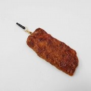 Grilled Beef Headphone Jack Plug - Fake Food Japan