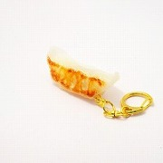 Gyoza Dumpling (Japanese Pot Sticker) (small) Keychain - Fake Food Japan