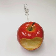 Half-Eaten Apple Card Stand - Fake Food Japan