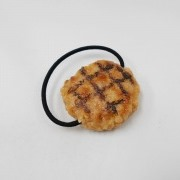 Hamburger Patty with Grill Marks Hair Band - Fake Food Japan