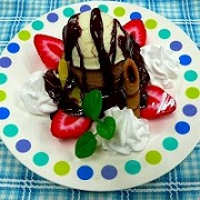 Ice Cream Sundae Replica - Fake Food Japan