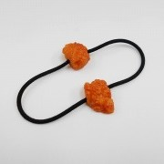 Kara-age (Boneless Fried Chicken) (small) Hair Band (Pair Set) - Fake Food Japan