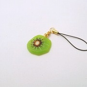 Kiwi Cell Phone Charm/Zipper Pull - Fake Food Japan