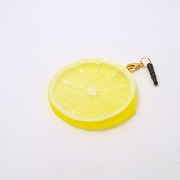 Lemon Slice Headphone Jack Plug - Fake Food Japan
