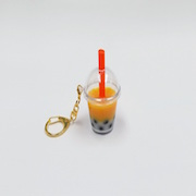 Mango Tapioca Drink (mini) Keychain - Fake Food Japan