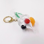 Melon Parfait (mini) Keychain - Fake Food Japan
