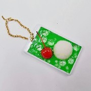 Melon Soda Pass Case with Charm Bracelet - Fake Food Japan