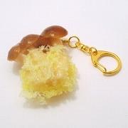 Mushroom Tempura Keychain - Fake Food Japan
