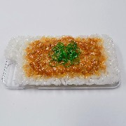 Natto (Fermented Soybeans) & Rice iPhone 8 Case - Fake Food Japan