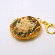Okonomiyaki (Pancake) Keychain - Fake Food Japan