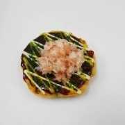 Okonomiyaki (Pancake) Magnet - Fake Food Japan