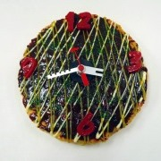 Okonomiyaki (Pancake) (small) Wall Clock - Fake Food Japan