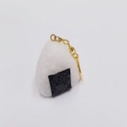 Onigiri (Rice Ball) (medium) Keychain - Fake Food Japan