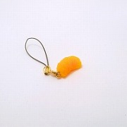 Orange Cell Phone Charm/Zipper Pull - Fake Food Japan