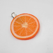 Orange Slice Hair Clip - Fake Food Japan