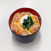 Oyako-don (Rice Bowl with Chicken & Egg) Ver. 1 Replica - Fake Food Japan