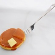 Pancake with Butter & Maple Syrup Mirror - Fake Food Japan