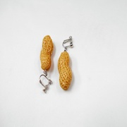 Peanut Clip-On Earrings - Fake Food Japan