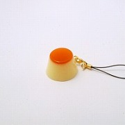 Pudding Cell Phone Charm/Zipper Pull - Fake Food Japan