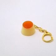 Pudding Keychain - Fake Food Japan