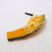 Pumpkin Tempura Headphone Jack Plug - Fake Food Japan